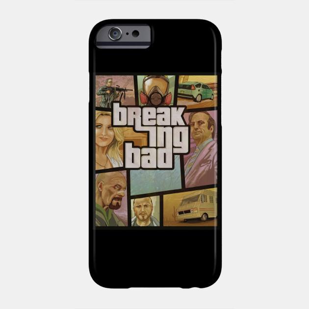 BREAKING BAD GTA iphone case