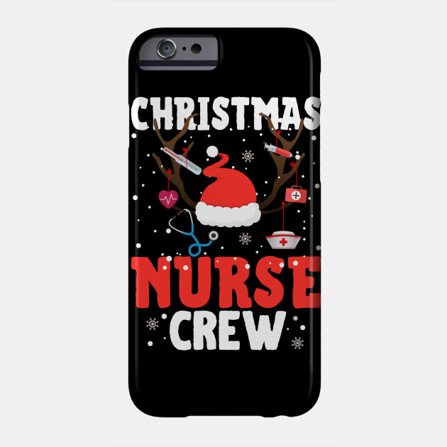 Christmas Break Christmas Nurse Crew Nurses Working on Christmas Nurse Christmas Gift Phone Case