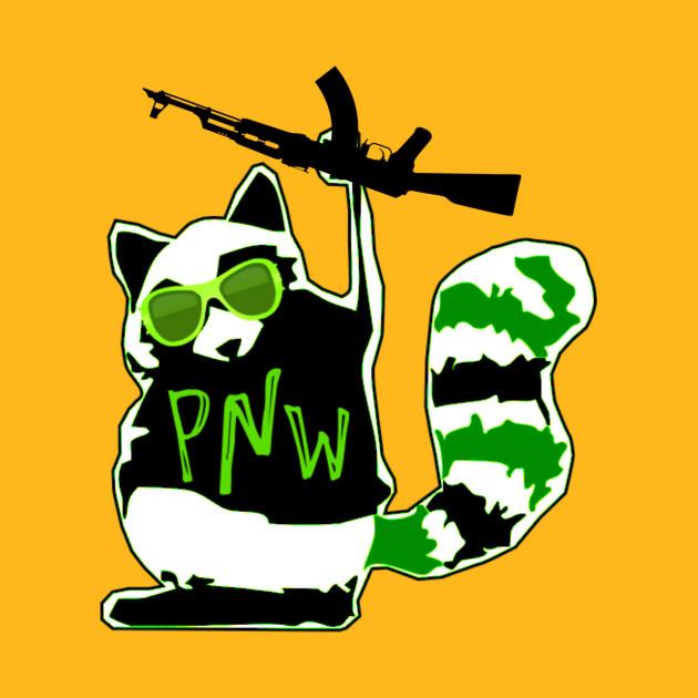 PNW Rebel Raccoon AK47