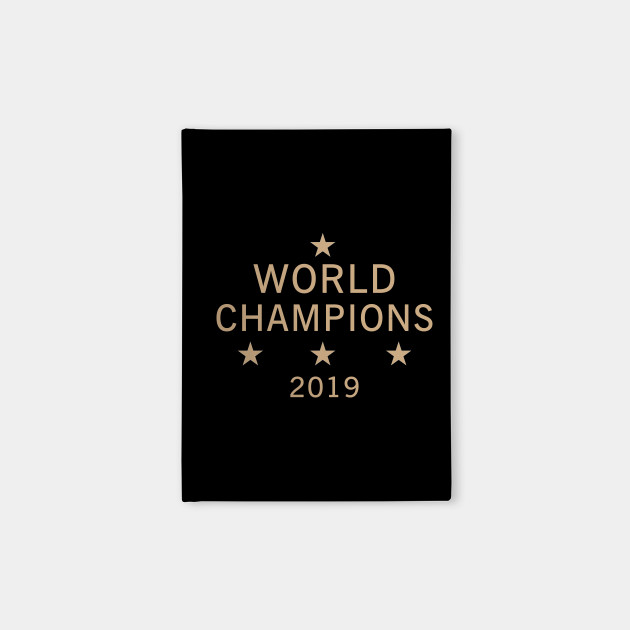 US women's soccer team win world champions four title 2019 T-Shirt
