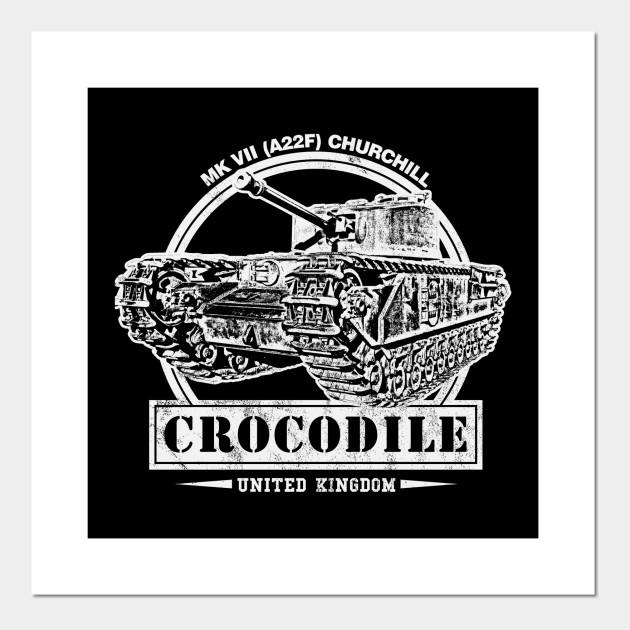 Churchill Crocodile WW2 Tank