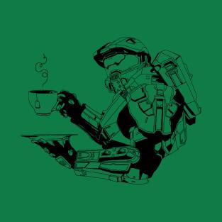 Master Chief: Teabagger t-shirts