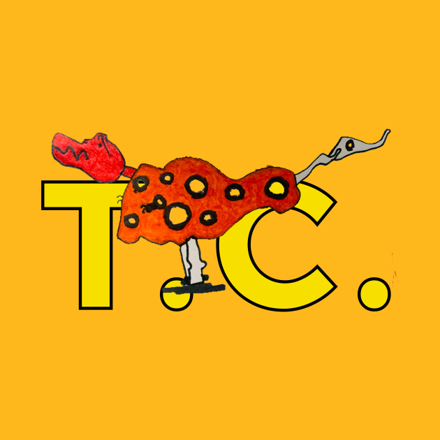 T.C. The T-Rex from Beautiful Weirdos