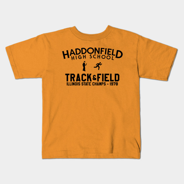 Haddonfield High School Track Team Halloween Kids T Shirt