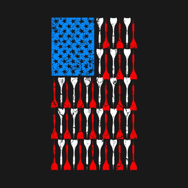 Darts USA Pride America Flag Arrow Patriot Gift