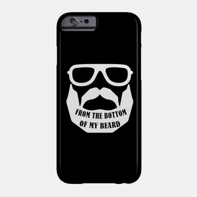 Mens Valentines Day Beard products for Him Men Gift 3 Phone Case