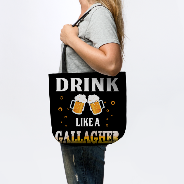 Drink Like A Gallagher Shirt Great St Patrick_s Day