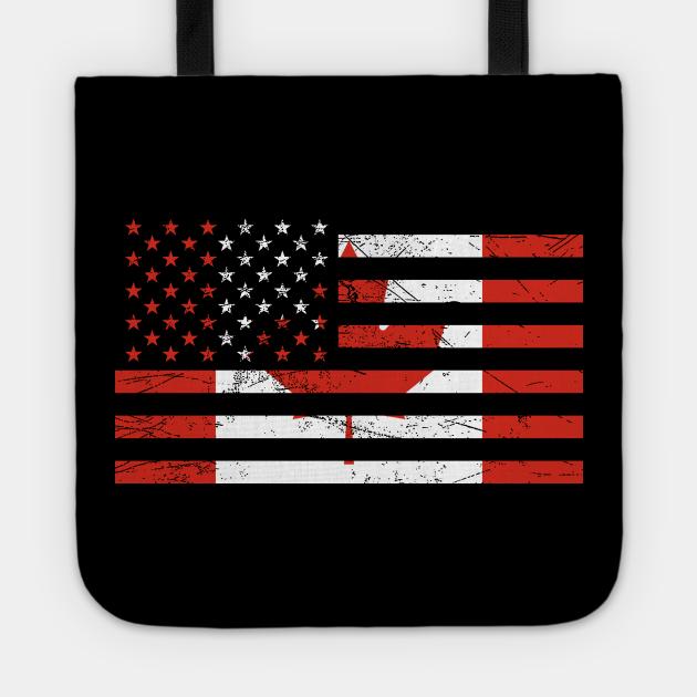 USA Canada Flag