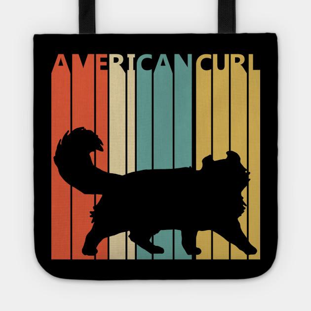 Vintage American Curl Cat Owner Gift