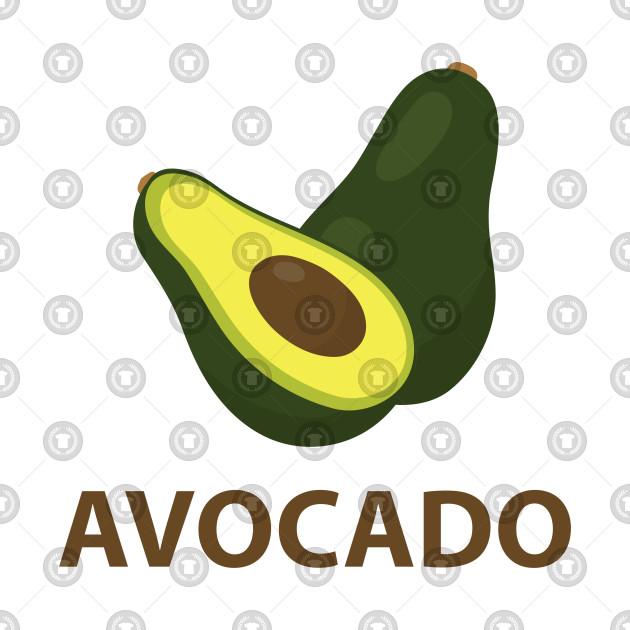 Fruit Icon Avocado