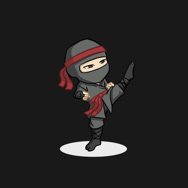 Ninja Kick Chibi