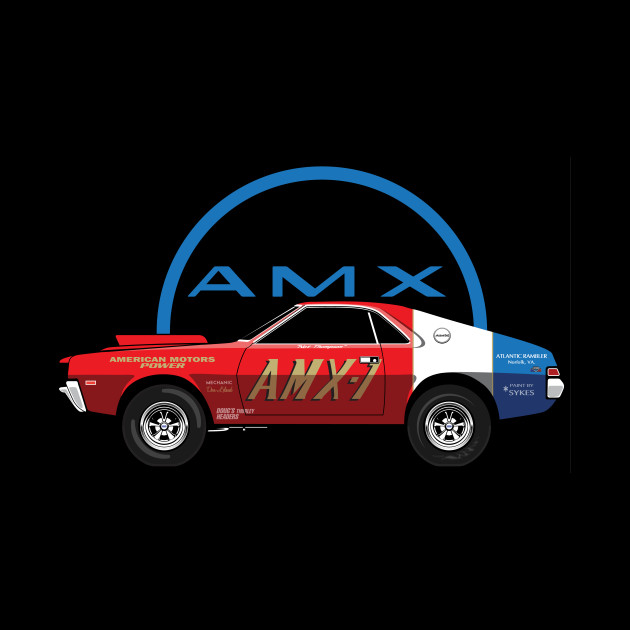 '69 AMX-1 factory built, modified by Hurst, super stock race car.