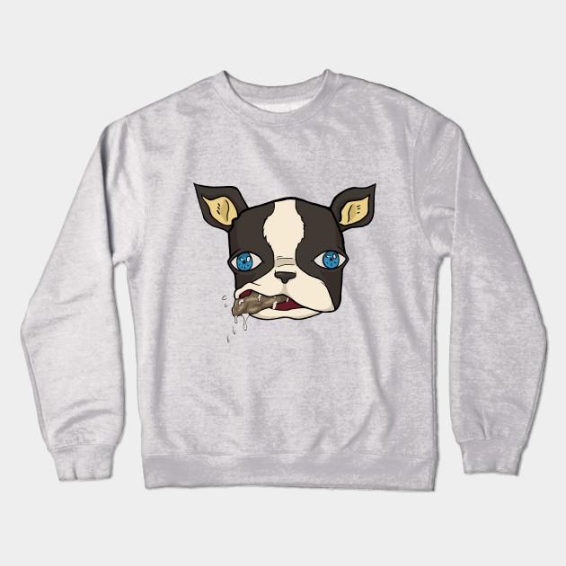 adedd8830573 Iggy the dog - Jojos Bizarre Adventure - Crewneck Sweatshirt