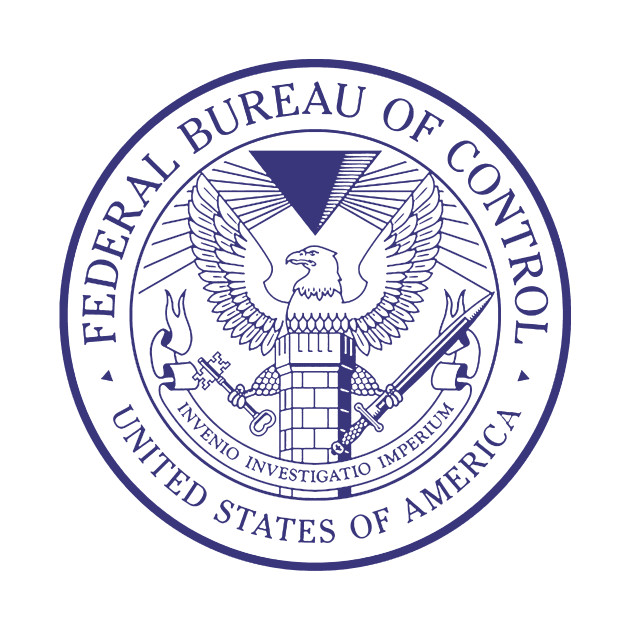 Federal Bureau of Control Blue