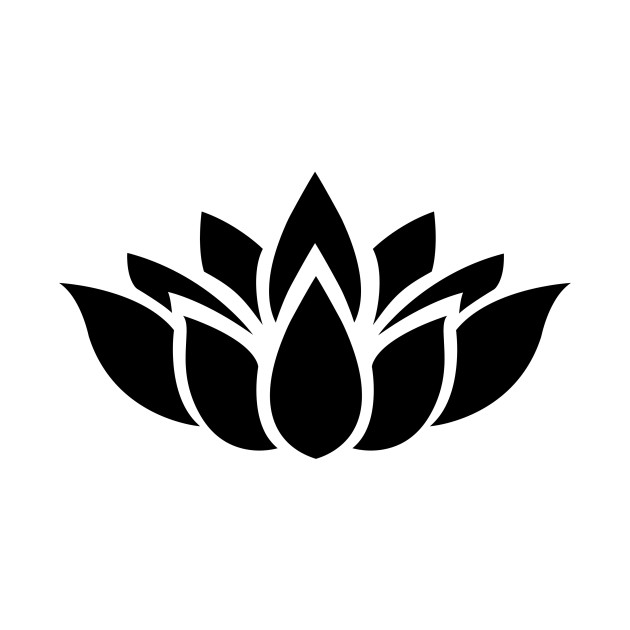 Limited Edition Exclusive Lotus Flower Silhouette 7 Lotus Flower