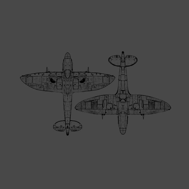 Submarine Spitfire MKXIV
