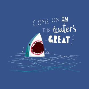 Great Advice Shark t-shirts