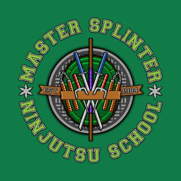 Master Splinter's Ninjutsu School