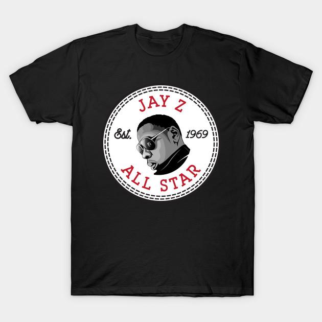 b84530a811a9 Jay Z Converse All Star Icon - Jay Z - T-Shirt