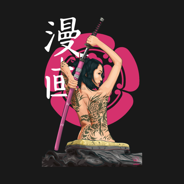 Woman Samurai (Shogun ODA Clan)