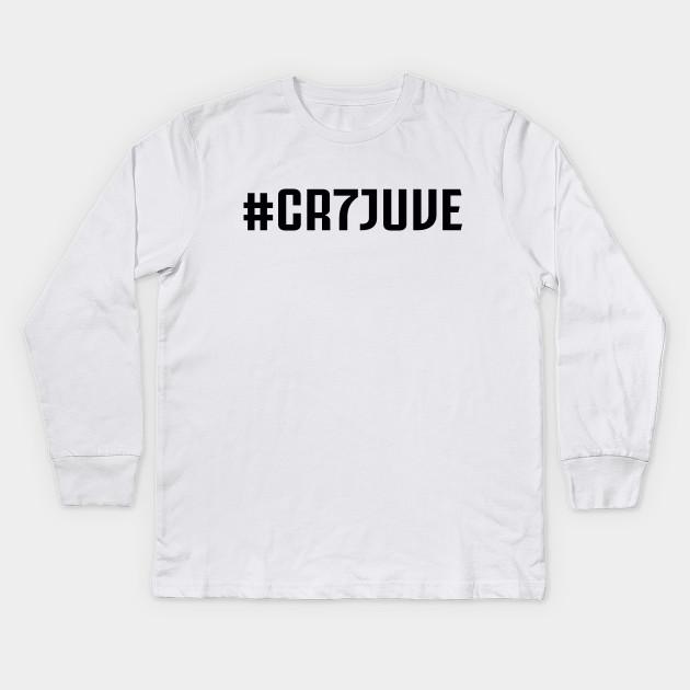 34d9c1ac93a CR7 Juventus Cristiano 01 - Juventus - Kids Long Sleeve T-Shirt ...