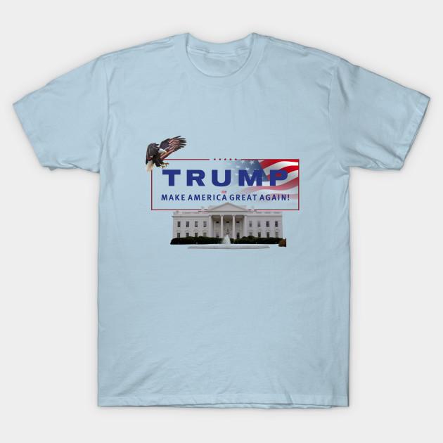 320dfbcdeb5 Donald J Trump - Make America Great Again - Humor - T-Shirt