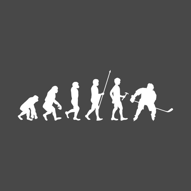 Hockey Evolution Stage T-Shirt Nice Gift for Hockey Fans