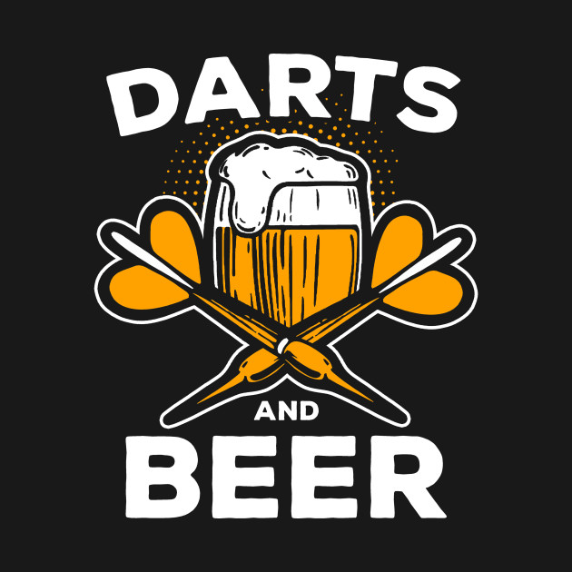 Darts and Beer Club Friends Team Players Gift