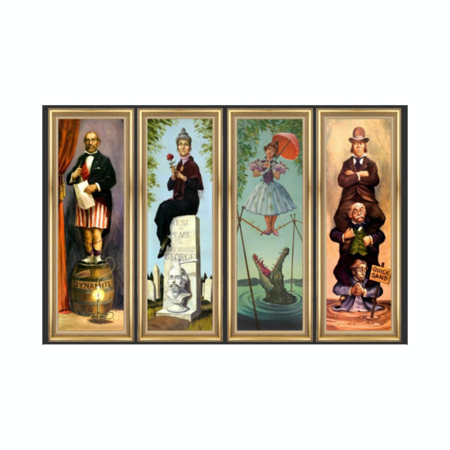Haunted Mansion Stretch Room Portraits