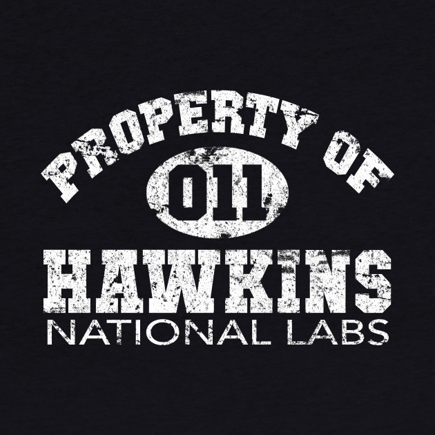 Property Of Hawkins 011 Shirt