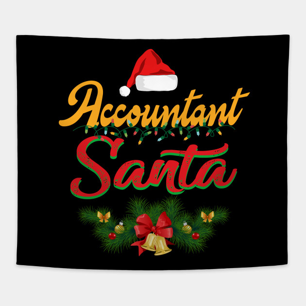Christmas Accountant.Accountant Santa Christmas Accountant Friend Family X Mas