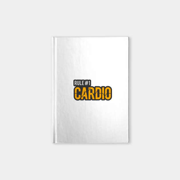 Zombieland Rule 1 Cardio Cardio Notebook Teepublic