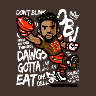 new styles b885b 824eb Odell Beckham Jr T-Shirts | TeePublic