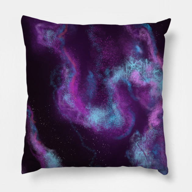 Blue and purple nebulae