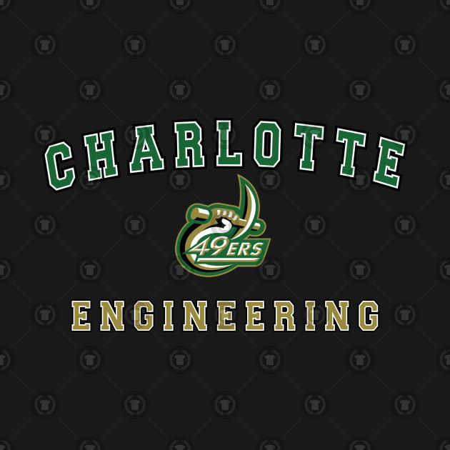 1673e1bd3d5 UNC Charlotte Engineering Kids Long Sleeve T-Shirt. New!Back Print. UNC  Charlotte Engineering UNC Charlotte Engineering