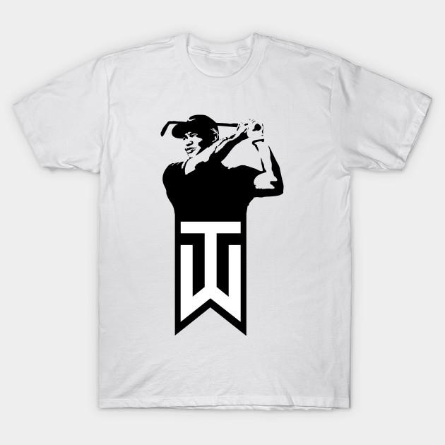 f3e40ae45410 Tiger Woods - Tiger Woods Golf - T-Shirt | TeePublic