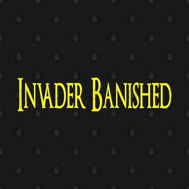 INVADER BANISHED - SOULS FROM THE DARK OF KNIGHT