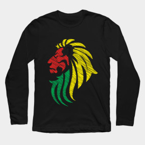 Lion Reggae Colors Cool Flag Reggae Music Dj Reggae