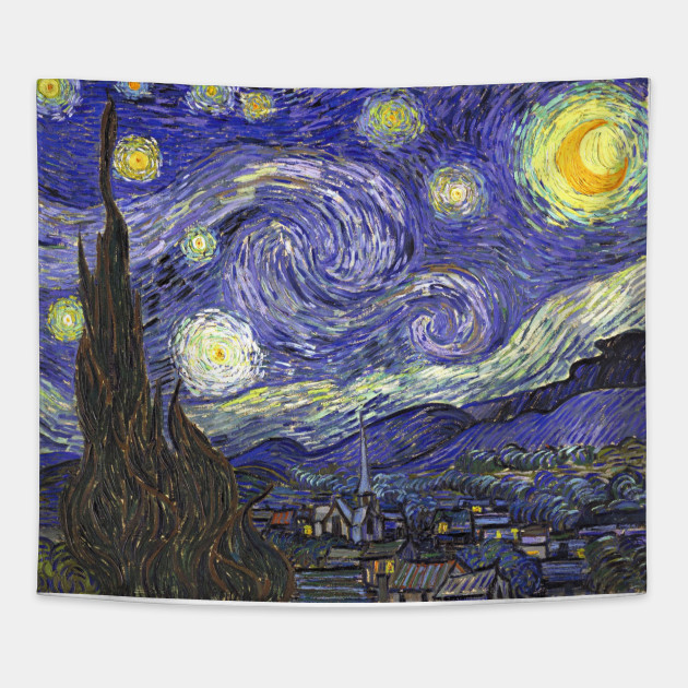 Starry Night by Vincent van Gogh - Starry