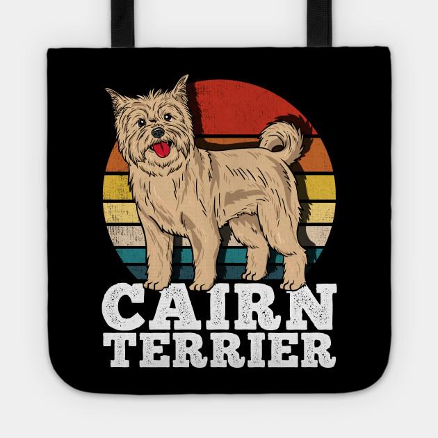 Cairn Terrier Dog Lover Retro