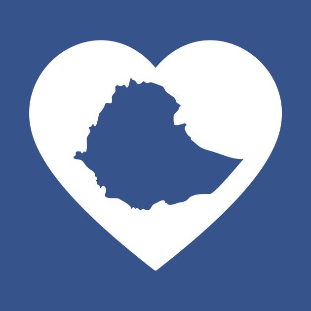 I Heart Ethiopia (White)