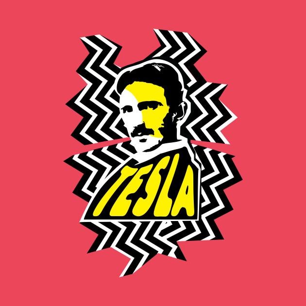 Nikola Tesla Stripes