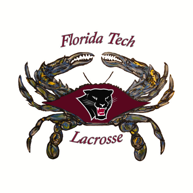 Florida Tech lacrosse crab maroon