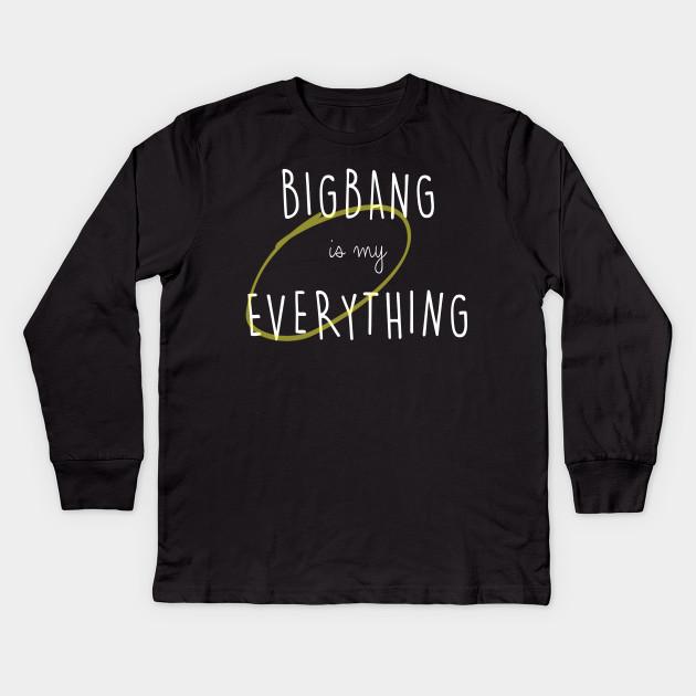 157fad7e5ed BIGBANG is my Everything (white text) - Kpop - Kids Long Sleeve T ...