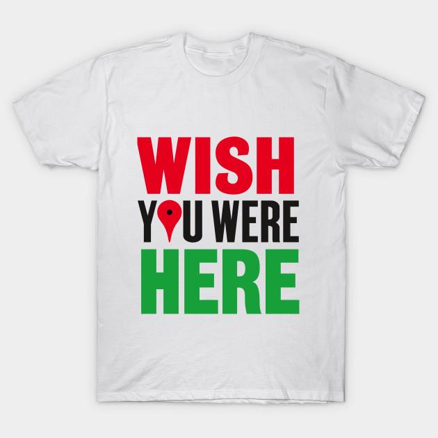 1fd33cdb Wish You Were Here - Pink Floyd - T-Shirt   TeePublic