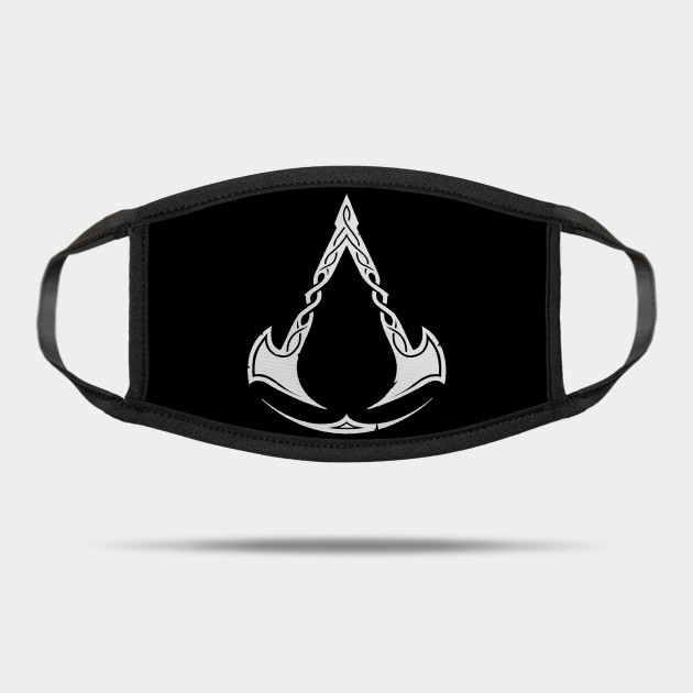 Assassin S Creed Valhalla Mask Assassinscreedlogo Mask Teepublic