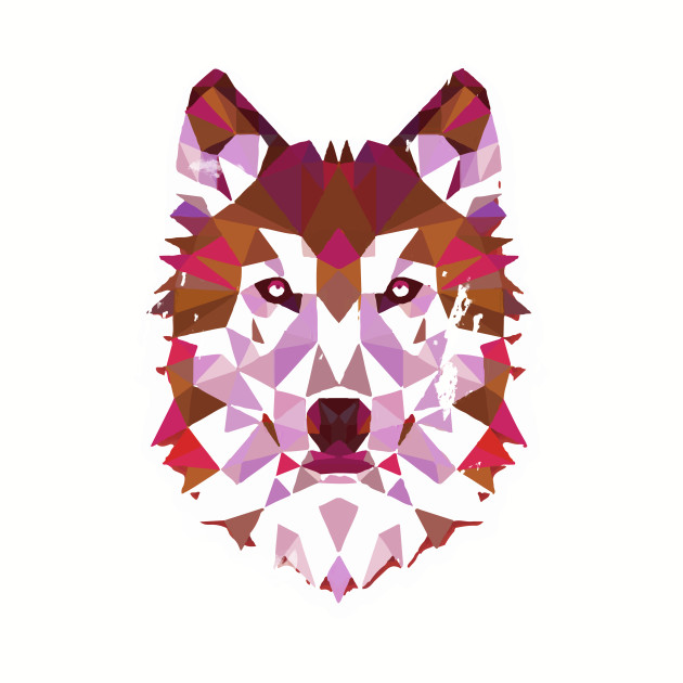 Wolf Geometric Artistic Wolf Teen Wolf Wolf Art Wolf ...