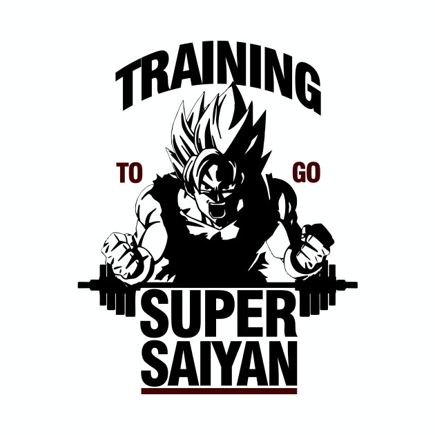 Training to go Super Saiyan