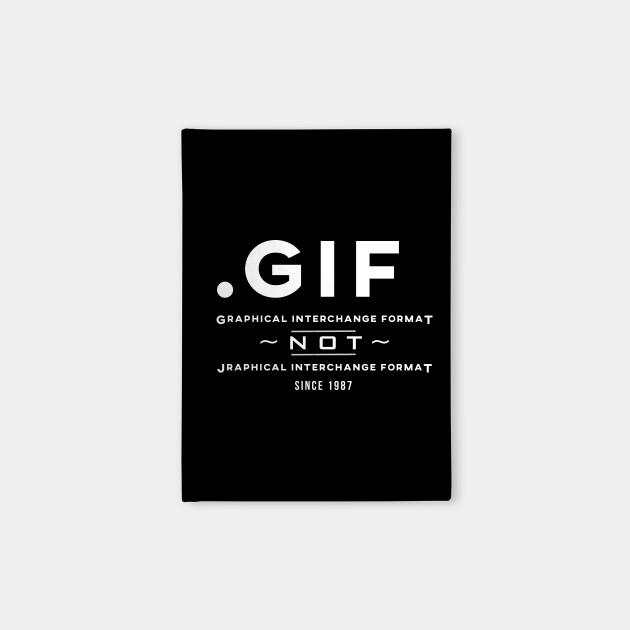 GIF not JIF