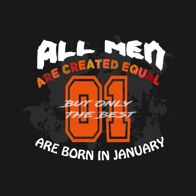 T-shirt for January Men